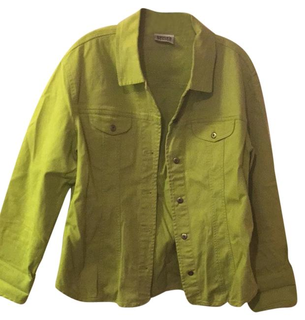 Preload https://item1.tradesy.com/images/chico-s-lime-green-size-12-l-2939575-0-0.jpg?width=400&height=650
