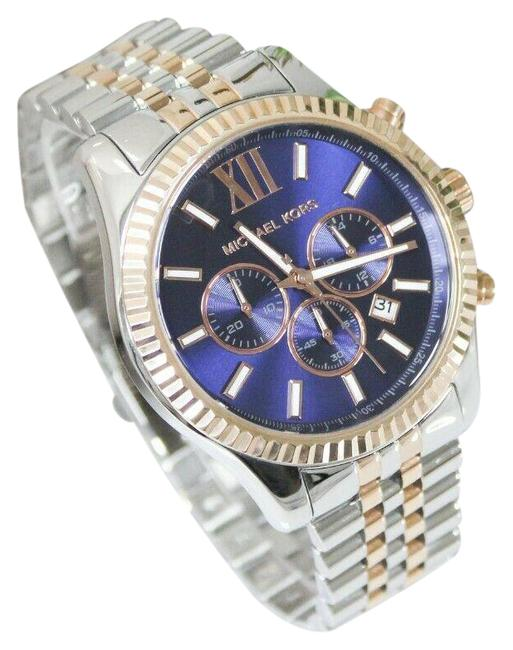 Item - Rose Gold/Silver Lexington (Mk8412) Two-tone Stainless Steel Watch