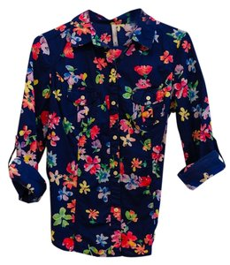 Old Navy Button Down Shirt navy, multi