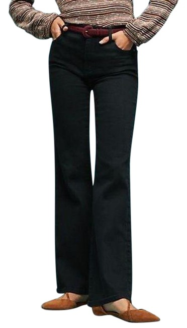 Item - Pilcro and The Letterpress Black Dark Rinse High Boot Cut Jeans Size 28 (4, S)