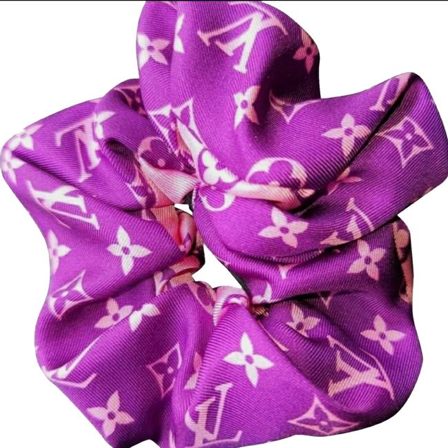 Item - Scrunchie Ribbon Violet By Vuittamines Edition Hair Accessory
