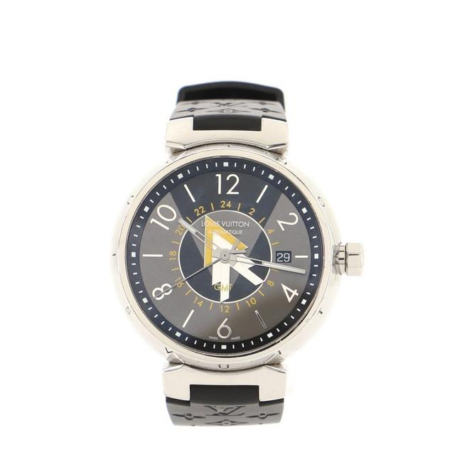 Item - Multi Color Tambour Vvv Gmt Stainless Steel and Monogram Rubber 41 Watch