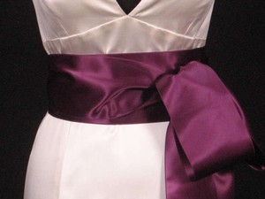 Plum Purple Ribbon 4