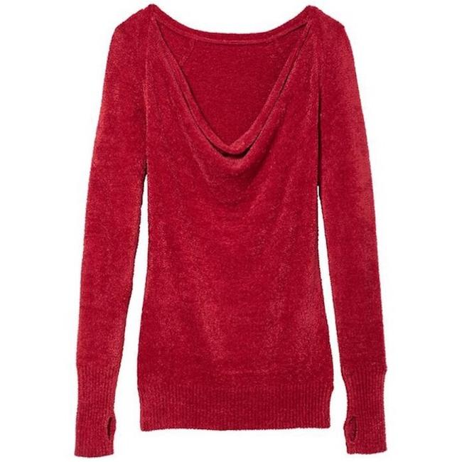 Item - Red Cuddle Up Cozy Sweater Activewear Top Size 16 (XL, Plus 0x)