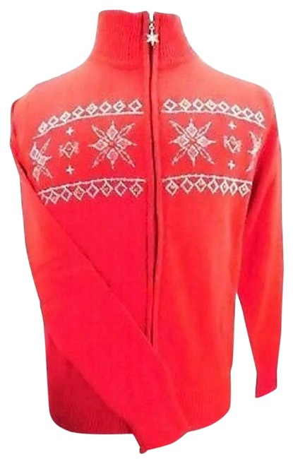 Item - Red Snowflake Jacket Size 4 (S)
