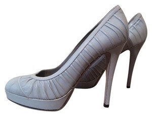 Kenzo Platform Light Grey Pumps