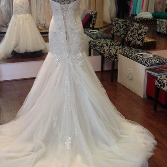 Sophia Tolli French Beige Formal Wedding Dress Size 8 (M) Image 1