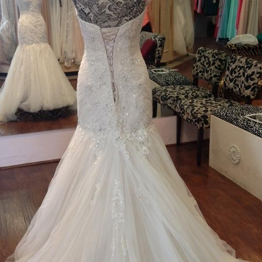 Sophia Tolli French Beige Formal Wedding Dress Size 8 (M) Image 4