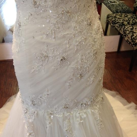 Sophia Tolli French Beige Formal Wedding Dress Size 8 (M) Image 6