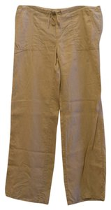 London Jean Linen Relaxed Pants Sand