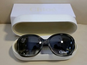 Chlo New Chloe oversized sunglasses in Horn Grey CL2240 CO2
