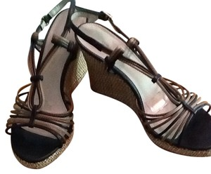 Bandolino Brown Multi Wedges