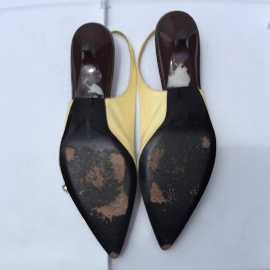 Blay Concept Brown/gold Mules Image 6