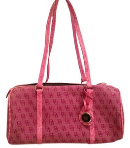 Dooney & Bourke Barrel Barrel Satchel Shoulder Bag