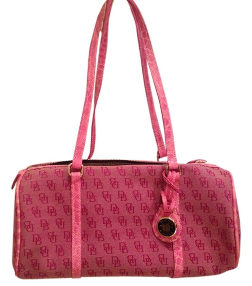 Dooney Bourke Barrel Satchel Handbags Pink Handbag
