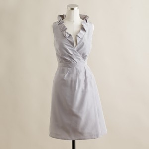 J.Crew Driftwood (Silver/Grey) Blakely Dress