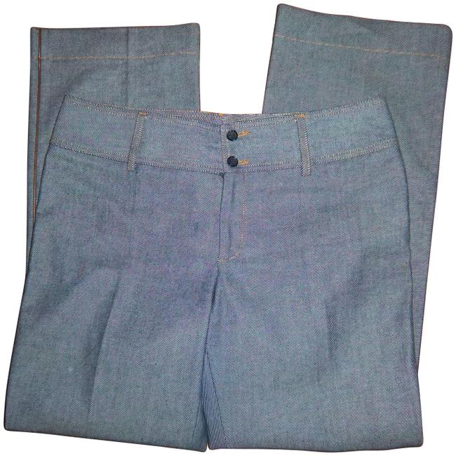 """Item - Blue Dolce & Gabbana 46 Italy Sexy Style Mom 31"""" Waist Boot Cut Jeans Size 34 (12, L)"""