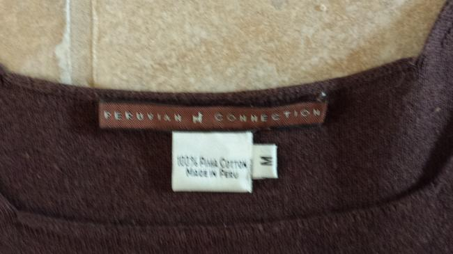 Peruvian Connection Top Brown