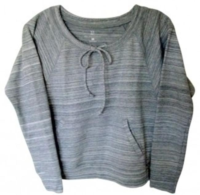 Preload https://item4.tradesy.com/images/new-york-and-company-greys-ny-and-co-and-white-horizontal-stripes-small-sweatshirthoodie-size-petite-29418-0-0.jpg?width=400&height=650