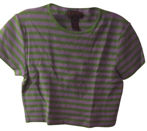 Ralph Lauren Top Purple And Green