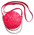 Betsey Johnson Cocktail Coral Inner Polyesterfabric Outer Pvc Cross Body Bag Betsey Johnson Cocktail Coral Inner Polyesterfabric Outer Pvc Cross Body Bag Image 1