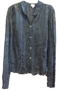 Armani Button Down Shirt Black