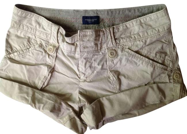 Preload https://item3.tradesy.com/images/american-eagle-outfitters-khaki-cuffed-shorts-size-2-xs-26-294207-0-0.jpg?width=400&height=650
