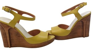 Maison Martin Margiela Golden Wedges