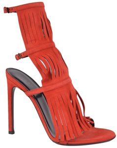 Gucci Gladiator Women's Red Sandals