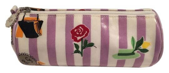 Preload https://item2.tradesy.com/images/lulu-guinness-purple-lavender-and-white-striped-cosmetic-bag-2942221-0-0.jpg?width=440&height=440