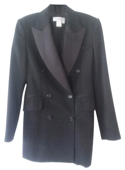 Preload https://item3.tradesy.com/images/isaac-mizrahi-black-double-breasted-wool-blazer-size-4-s-2942647-0-0.jpg?width=400&height=650
