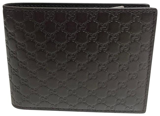 Item - Brown Men's Microguccissima Gg Logo Leather Trifold Wallet