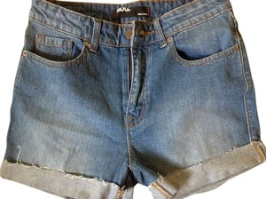 BDG Cuffed Shorts Denim Urban Outfitters