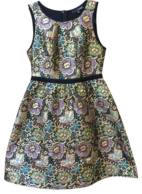 Preload https://item1.tradesy.com/images/anthropologie-metallic-floral-cocktail-dress-size-2-xs-2942875-0-0.jpg?width=400&height=650