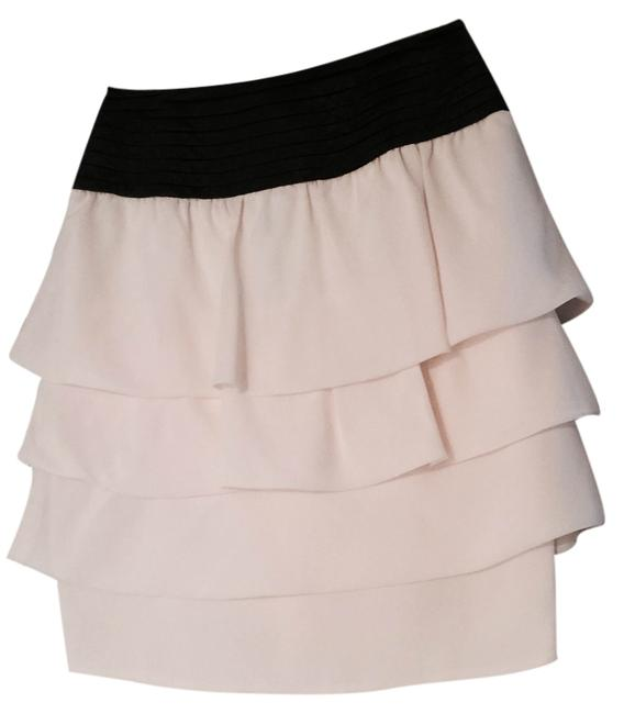 Reiss Skirt Cream and Black Waist Image 0