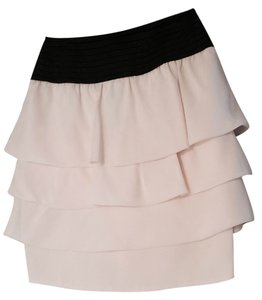 Reiss Skirt Cream and Black Waist