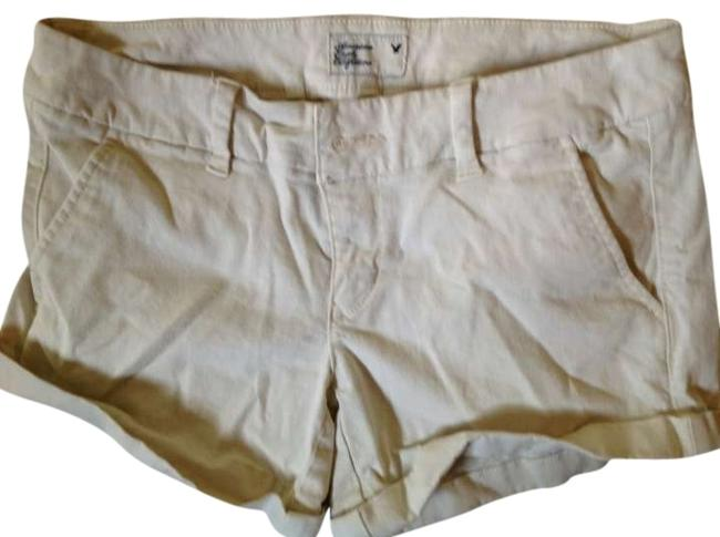 Preload https://item1.tradesy.com/images/american-eagle-outfitters-khaki-stretch-cuffed-shorts-size-2-xs-26-294290-0-0.jpg?width=400&height=650