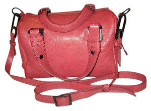 Allibelle Satchel in Dark Red