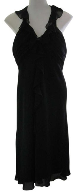 Preload https://item4.tradesy.com/images/dressbarn-black-evening-mid-length-cocktail-dress-size-10-m-294308-0-0.jpg?width=400&height=650