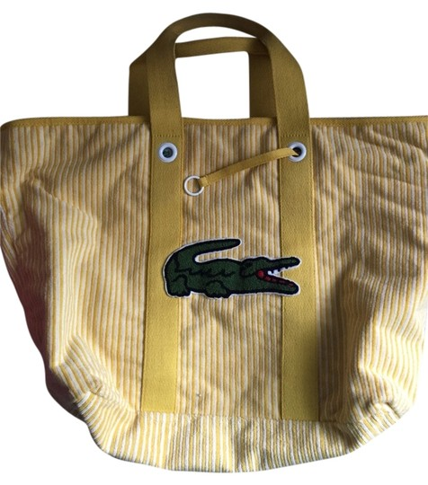 Lacoste Tote in Yellow