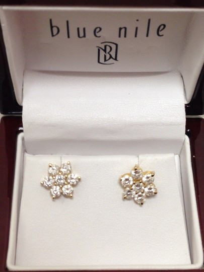 Other AUTHENTIC FLOWER CLUSTER DIAMOND RING EARRINGS PENDANT SET IN 14K YELLOW GOLD