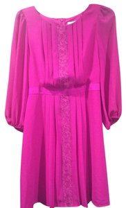 Jessica Simpson short dress Pink, Magenta on Tradesy