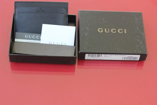 Gucci Gucci Controllato Made in Italy Black Leather Credit Card Holder New In Box Perfect Fathers Day Gift