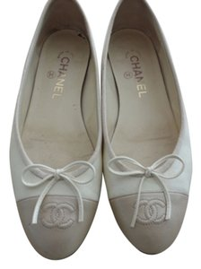 Chanel Ballerina Beige Light Beige Flats