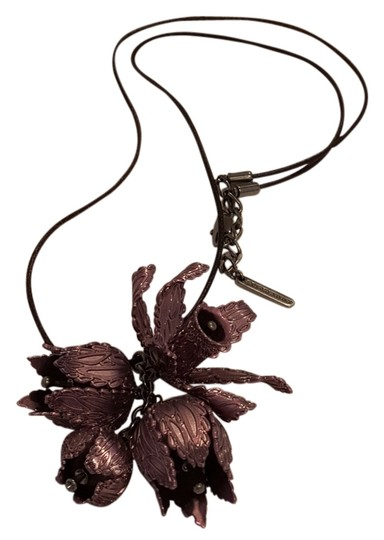 Burberry Burberry Metal Flowers Necklace