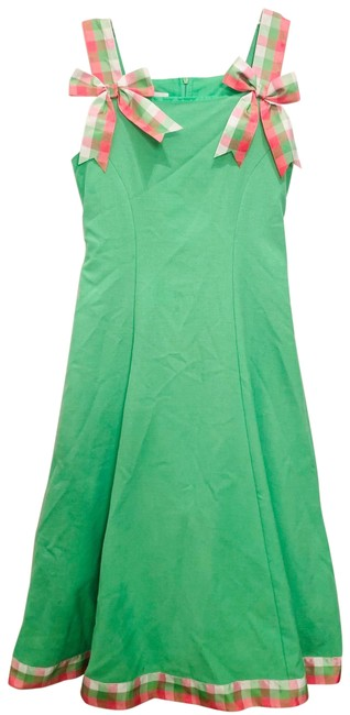 Item - Green 8 Girls Short Casual Dress Size OS (one size)