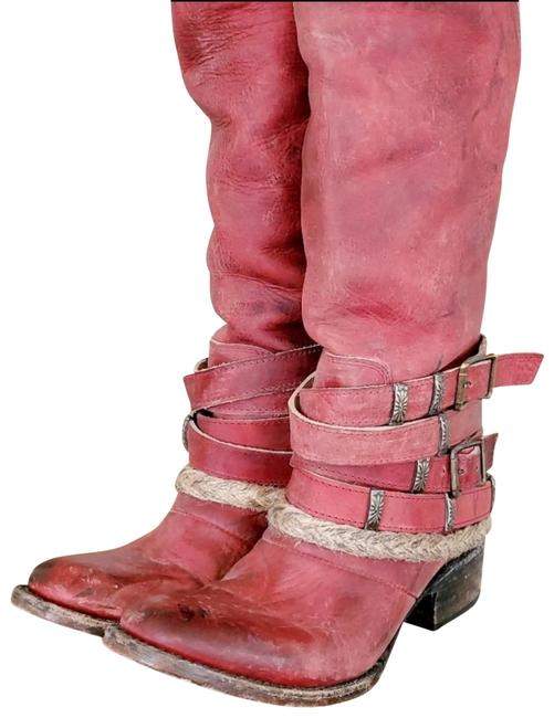 Item - Red Drover Boots/Booties Size US 6 Regular (M, B)