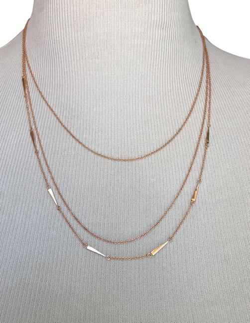Item - Rose Gold Multi Way Layered Necklace