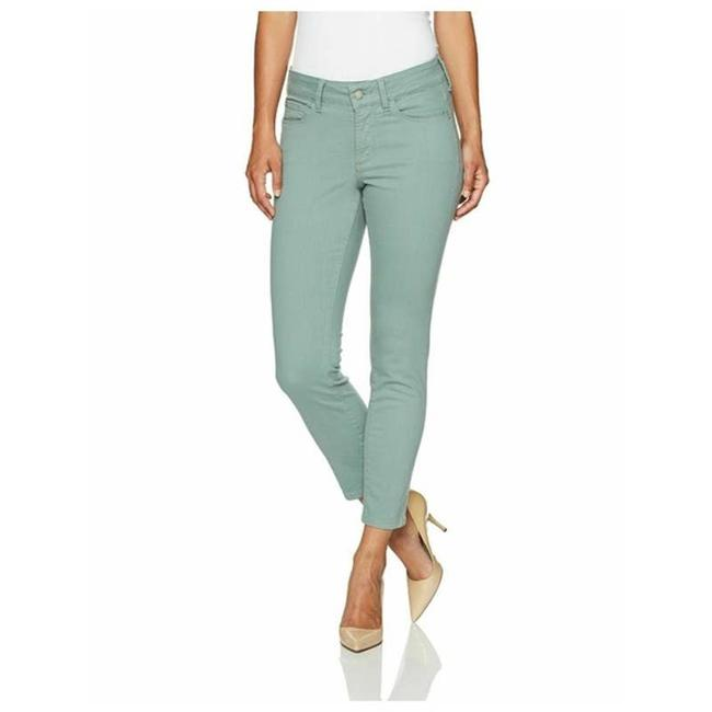 Item - Green 8 Alina Convertible Ankle Skinny Jeans Size 32 (8, M)