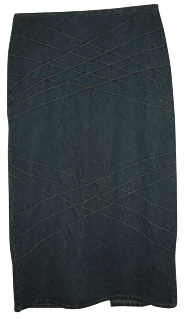 Preload https://item1.tradesy.com/images/no-boundaries-blue-knee-length-skirt-size-12-l-32-33-294395-0-0.jpg?width=400&height=650